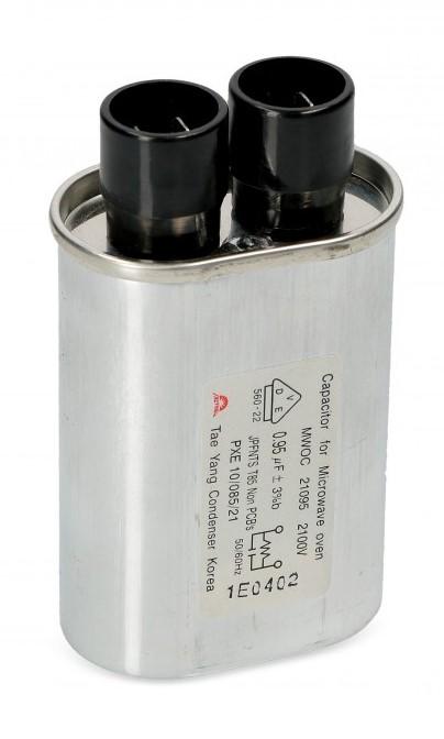 Mikrolaineahju kondensaatorid