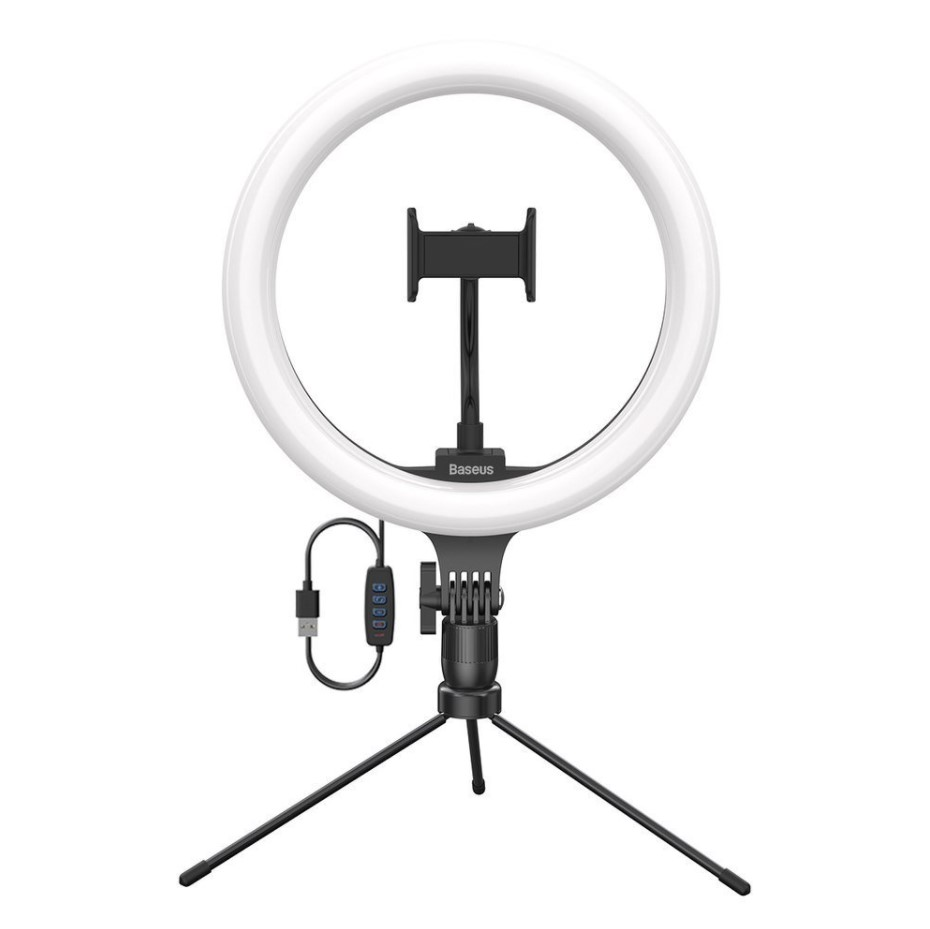 "Tripod - Holder for Selfies with 10"" LED Ring Light"
