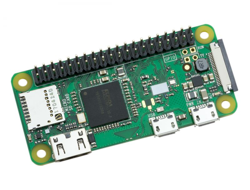 Miniarvuti  RASPBERRY Pi Zero Wireless