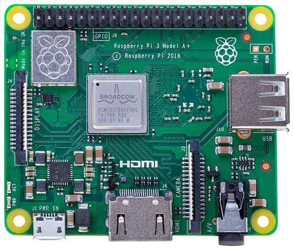 Miniarvuti RASPBERRY PI 3 A +