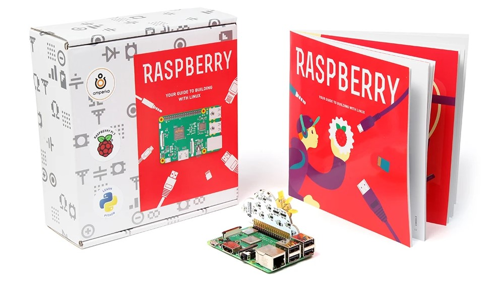 Educational Raspberry Pi 4 2GB Kit for learning Linux