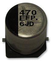 CAP, 150µF, 16V, RADIAL, SMD