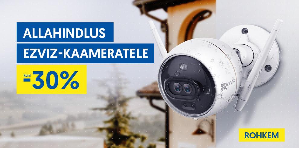 Allahindlus EZVIZ-kaameratele kuni -30%