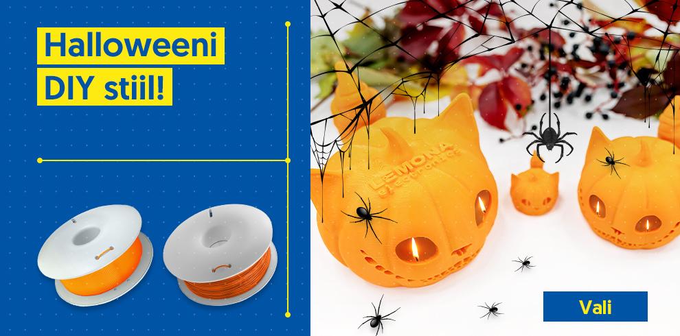 Halloweeni DIY stiil!